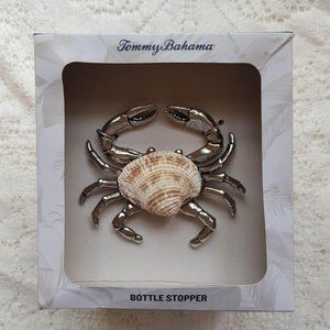 NEW Tommy Bahama Shell Crab Bottle Stopper